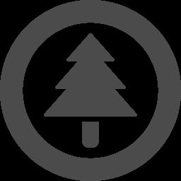 杉の木のフリーアイコン素材 3